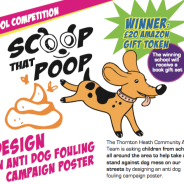 Design an anti dog fouling campaign poster